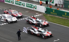 Toyota at the 2018 24 Hours of Le Mans