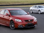 Toyota Aurion TRD - 323hp through the front wheels