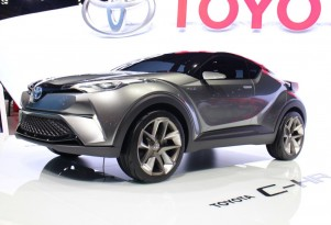 Toyota Shows Second Concept For Subcompact Crossover At Frankfurt; Hybrid Model Expected