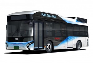 Toyota to launch fuel-cell buses next year for Olympics