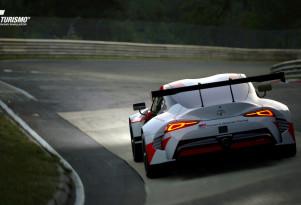 Toyota GR Supra Racing concept in 'Gran Turismo Sport'