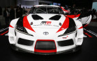 New Toyota Supra previewed by race car concept in Geneva