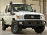 Toyota Land Cruiser 70 truck pops up on eBay