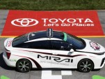 Toyota Mirai serves as official pace car for 2015 Toyota Owners 400 NASCAR Sprint Cup race