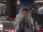 Toyota president Akio Toyoda does the ALS Ice Bucket Challenge