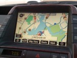 Toyota Prius navigation screen
