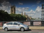 Toyota Prius Plug-In Hybrid prototype in London, U.K.