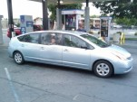 Toyota Prius six-door limousine, from Jalopnik