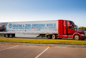 Toyota enters $82 million partnership to roll out hydrogen trucks in Los Angeles port