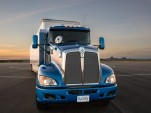 Toyota 'Project Portal' proof-of-concept hydrogen fuel-cell powered semi tractor, for Port of LA
