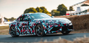 Toyota Supra dynamic debut at 2018 Goodwood Festival of Speed