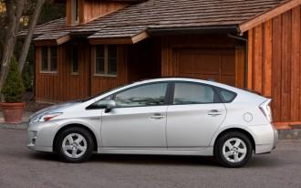 2010 Toyota Prius, Lexus HS Recalled