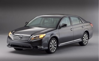 2011-2012 Toyota Avalon Recalled For Fire Risk Linked To Audio System