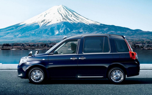 Toyota's new Japanese taxi cab