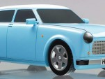 Trabant electric car concept for 2009 Frankfurt auto show