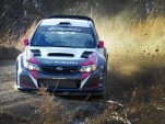 Travis Pastrana tests for his comeback to Rally America in the 2014 100 Acre Wood
