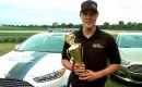 Trevor Bayne Wins Ford Fusion EcoBoost Challenge