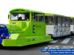 Electric Trolley Draws Charge From the Road