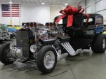 Twin-engine 1932 Ford sedan delivery hot rod up for sale at Hemmings