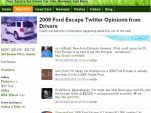 Twitter feed integrated into GreenCarReports.com
