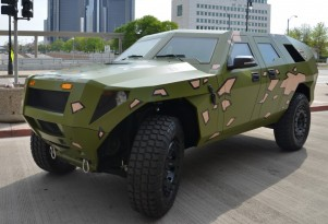 Army Diesel-Hybrid Concept: Twice The MPG, Just As Fierce As Humvee