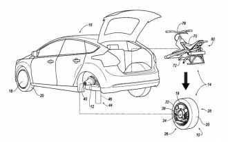 Ford Patent Could Transform Your Car Into A Unicycle