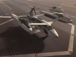 Uber flying taxi prototype