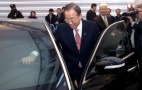 U.N. Secretary General Gets Bulletproof Hyundai Equus Limo
