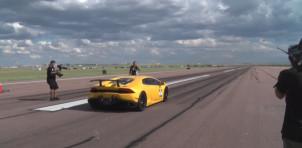 Underground Racing Lamborghini Huracan hits 259 mph in the half mile