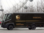 UPS Modec electric truck in London
