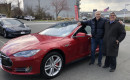 Used 2015 Tesla Model S P85D on day of purchase  [photo: Jay Lucas]