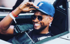 Usher starts 2018 Gumball 3000 rally in a BAC Mono