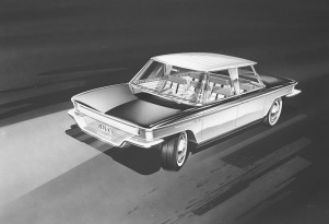 Fuel-cell concepts from 50 years ago: famed designer Brooks Stevens