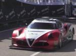 V-8 powered Alfa Romeo 4C hill climb monster