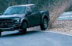 Watch Vaughn Gittin Jr. drift the Nurburgring in a Ford Raptor