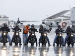 Veterans and active-duty military in Harley-Davidson's free Riding Academy motorcycle training