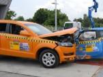 Video: Audi Q7 versus Fiat 500 crash test