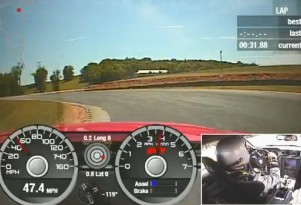 2011 Shelby GT500 improves lap time at VIR by eight seconds
