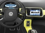 Volkswagen and Microsoft in-car technology