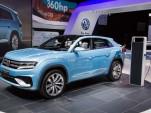 Volkswagen Cross Coupe GTE Concept live photos, 2015 Detroit Auto Show