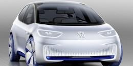 Volkswagen ID electric car concept, 2016 Paris auto show