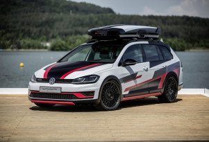 VW premieres a pair of Golf concepts for Wörthersee