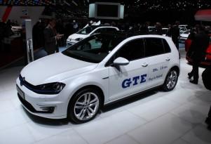 Volkswagen Golf GTE Plug-In Hybrid: Live Photos From Geneva