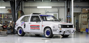 Twin-engined Volkswagen Golf used to race up Pikes Peak
