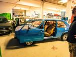 Josef Juza owns 114 Volkswagen Golfs