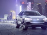 Volkswagen ID Crozz concept for all-electric crossover debuts at Shanghai auto show