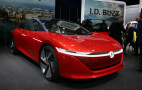 Volkswagen ID Vizzion electric sedan unveiled at Geneva auto show