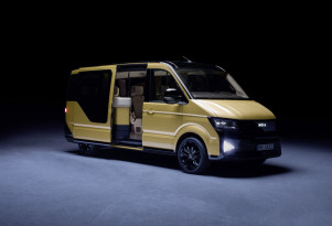 Volkswagen Moia electric mobility van is VW's Uber ride-sharing rival