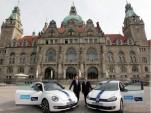 "Volkswagen starts car sharing project ""Quicar – Share a Volkswagen"" in Hanover"