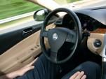 Volkswagen Temporary Auto Pilot in action